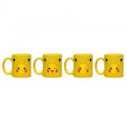 Set taza espresso Pikachu Pokemon - Imagen 1