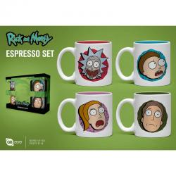 Set taza espresso Rick and Morty - Imagen 1