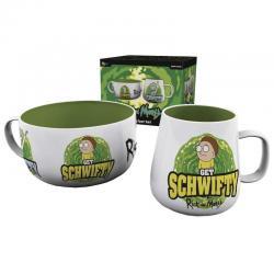Set desayuno Get Schwifty Rick and Morty - Imagen 1
