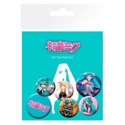 Set chapas Hatsune Miku - Imagen 1