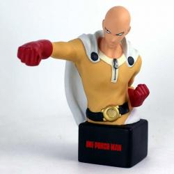 Busto hucha Saitama One Punch Man 20cm - Imagen 1