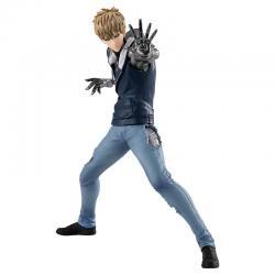 Figura Genos Demon Cyborg One Punch Man 17cm - Imagen 1