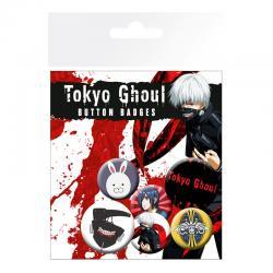 Set chapas Tokyo Ghoul - Imagen 1