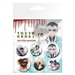 Set chapas Tokyo Ghoul RE - Imagen 1
