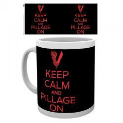 Taza Vikings Keep Calm - Imagen 1