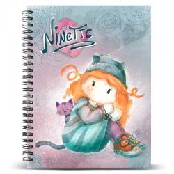Cuaderno A4 Forever Ninette - Imagen 1