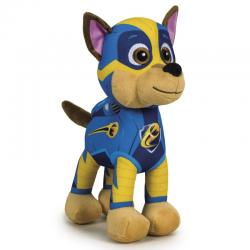 Peluche Chase Patrulla Canina Paw Patrol Mighty soft 22cm - Imagen 1