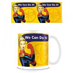 Taza We Can Do It Capitana Marvel - Imagen 1