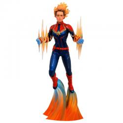 Figura diorama Capitana Marvel 28cm - Imagen 1