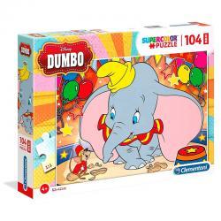 Puzzle Maxi Dumbo Disney 104pzs - Imagen 1