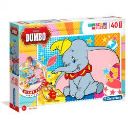 Puzzle Floor Dumbo Disney 40pzs - Imagen 1