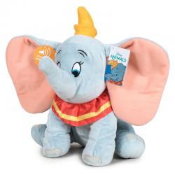 Peluche Dumbo Disney soft sonido 30cm - Imagen 1