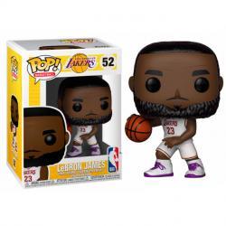 Figura POP NBA Lakers Lebron James White Uniform - Imagen 1