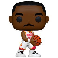 Figura POP NBA Legends Hakeem Olajuwon Rockets Home - Imagen 1