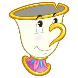 Toalla Chip La Bella y la Bestia Disney microfibra - Imagen 1