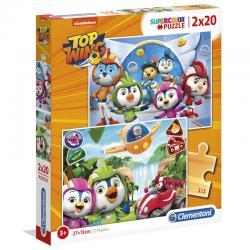 Puzzle Top Wing 2x20pzs - Imagen 1