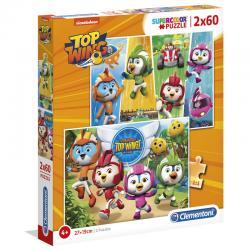 Puzzle Top Wing 2x60pzs - Imagen 1