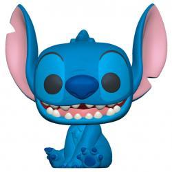 Figura POP Disney Lilo and Stitch - Smiling Seated Stitch - Imagen 1
