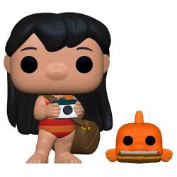 Figura POP Disney Lilo and Stitch Lilo with Pudge - Imagen 1