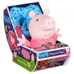 Peluche Fiesta Pijamas Peppa Pig sonido 18cm - Imagen 1