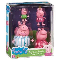 Set 4 figuras familia Peppa Pig - Imagen 1