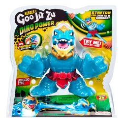 Super figura Dinogoo Tyro Dino Power Goo Jit Zu 16cm - Imagen 1