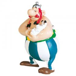 Figura Obelix con Idefix Asterix El Galo 8cm - Imagen 1