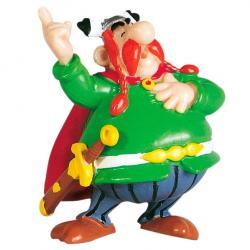 Figura Jefe Abraracurcix Asterix El Galo 6cm - Imagen 1