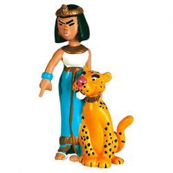 Figura Reina Cleopatra de Egipto Asterix El Galo 6cm - Imagen 1