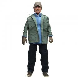 Figura articulada Sam Quint Tiburon 1975 20cm - Imagen 1