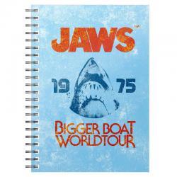 Cuaderno A5 Beach Jaws 1975 - Imagen 1