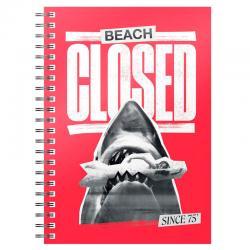 Cuaderno A5 Beach Closed Jaws 1975 - Imagen 1