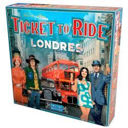 Juego mesa ¡Aventureros al Tren! Londres - Imagen 1