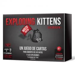 Juego Exploding Kittens NSFW - Imagen 1