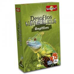 Juego cartas Desafios de la Naturaleza Reptiles - Imagen 1