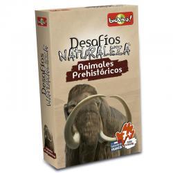 Juego cartas Desafios de la Naturaleza Animales Prehistoricos - Imagen 1