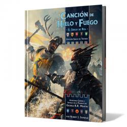 Libro juego Cancion de Hielo y Fuego Edicion Juego de Tronos - Imagen 1