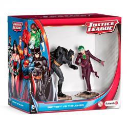 Figuras Batman vs The Joker Liga de la Justicia DC Comics - Imagen 1