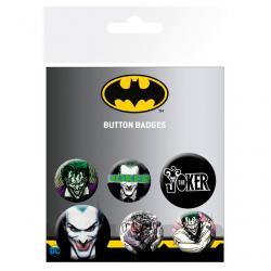 Set chapas Joker DC Comics - Imagen 1