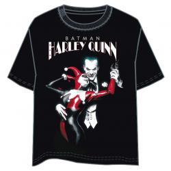 Camiseta Harley Quinn and Joker DC Comics adulto - Imagen 1