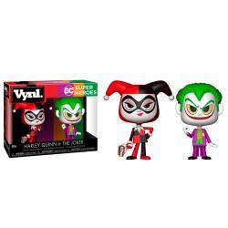 Figuras Vynl DC Comics Harley Quinn & The Joker - Imagen 1