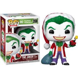 Figura POP DC Holiday Santa Joker - Imagen 1