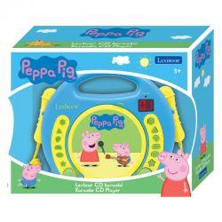 Reproductor CD Peppa Pig con microfonos - Imagen 1