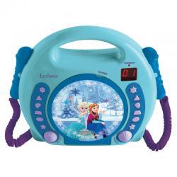 Reproductor CD Frozen Disney con microfonos - Imagen 1