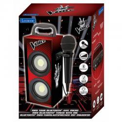 Mini torre bluetooth La Voz con microfono - Imagen 1