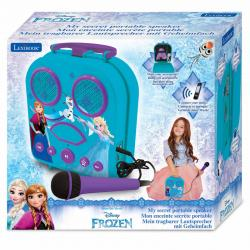 Maleta karaoke Frozen Disney portatil - Imagen 1