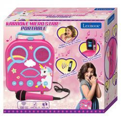 Maleta karaoke Unicornio portatil - Imagen 1