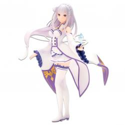 Figura Ichibansho Emilia Story Is To Be Continued Re:Zero Starting Life in Another World 19cm - Imagen 1