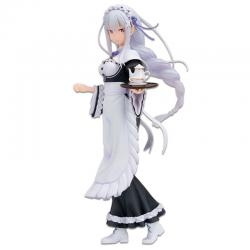 Figura Ichibansho Emilia Rejoice That There Are Lady On Each Arm Re:Zero Starting Life in Another World 19cm - Imagen 1