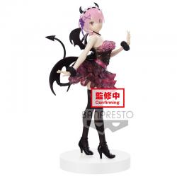 Figura Ram Espresto Clear and Dressy Re:Zero Starting Life in Another World 22cm - Imagen 1